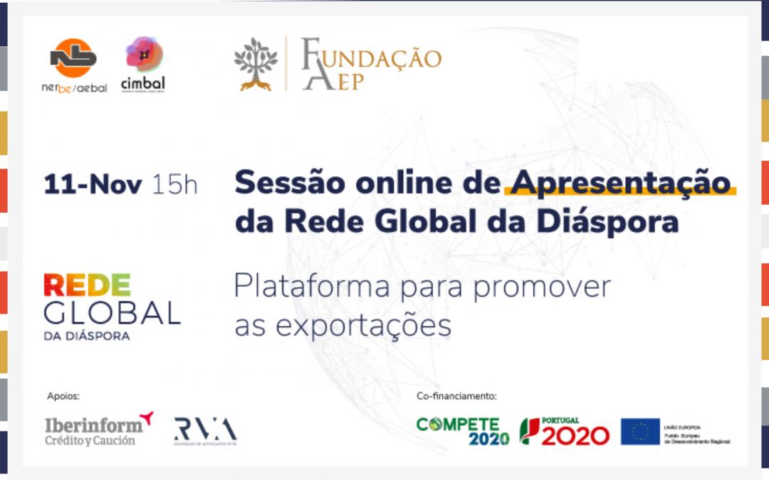 Sessão online de apresentação | Rede Global Diáspora | 11 Novembro