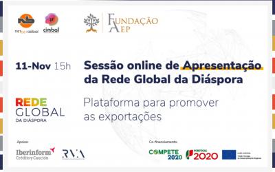 Sessão online de apresentação   Rede Global Diáspora   11 Novembro