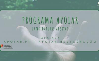 Programa APOIAR | Medidas APOIAR.PT e APOIAR RESTAURAÇÃO