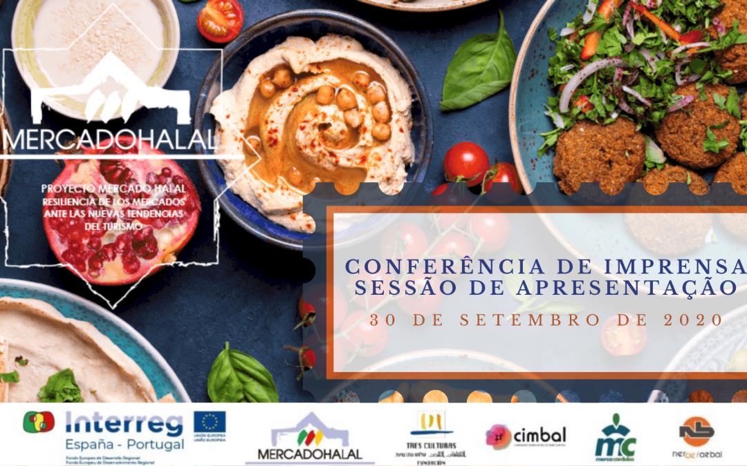 Mercado Halal | Apresentação do Projeto | Conferência de Imprensa | 30 Setembro