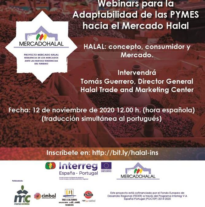 Webinar | Adaptabilidade das PMEs ao Mercado Halal | Halal conceito, consumidor e mercado | 12 Novembro