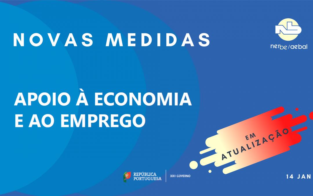 Novas Medidas | Apoio à Economia e ao Emprego