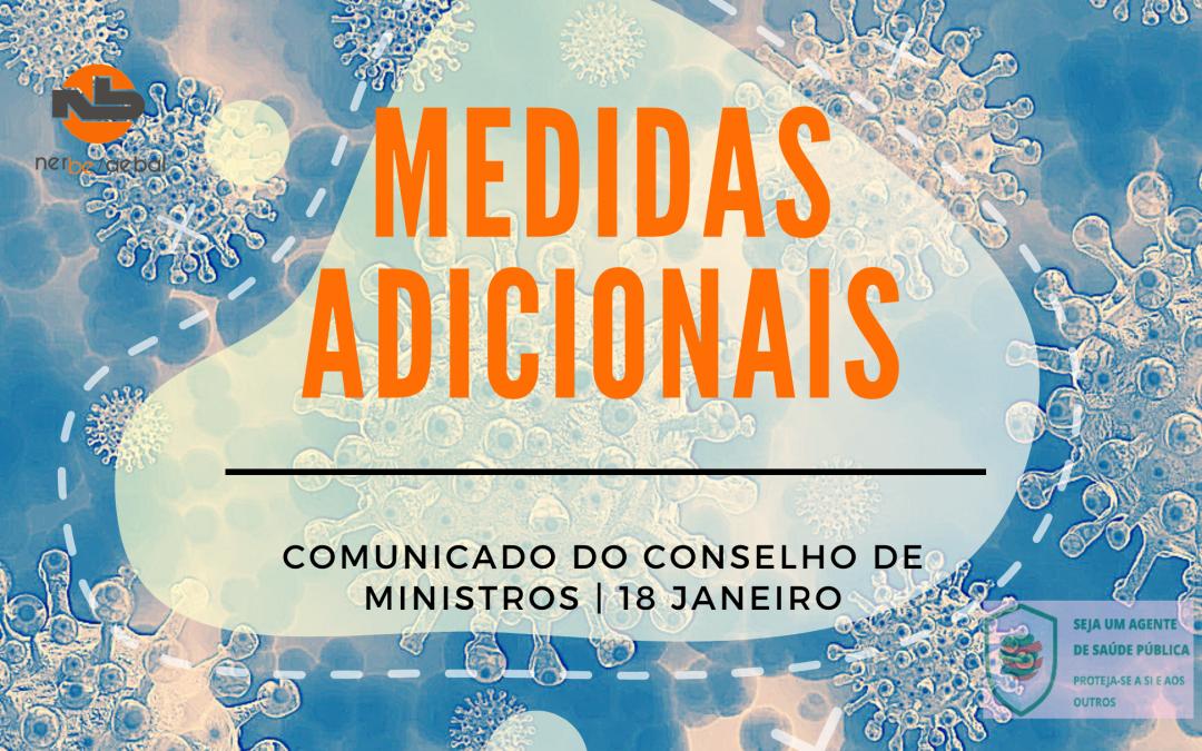 Comunicado do Conselho de Ministros extraordinário | 18 de JAN