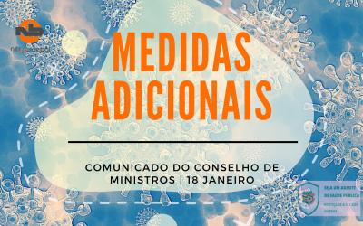 Comunicado do Conselho de Ministros extraordinário   18 de JAN