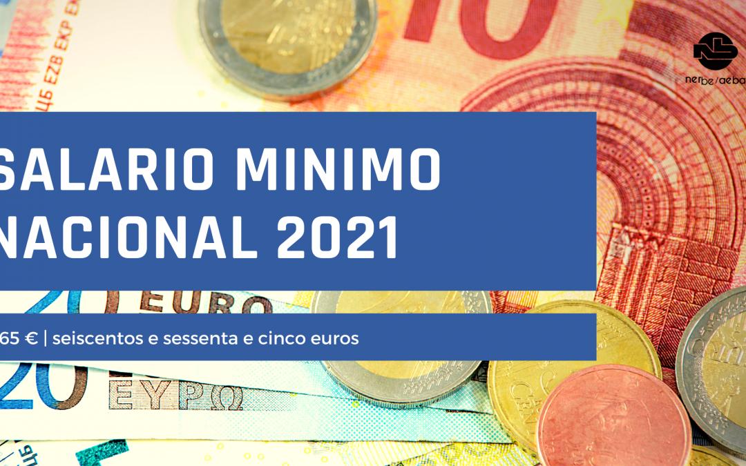 Salário Mínimo Nacional 2021