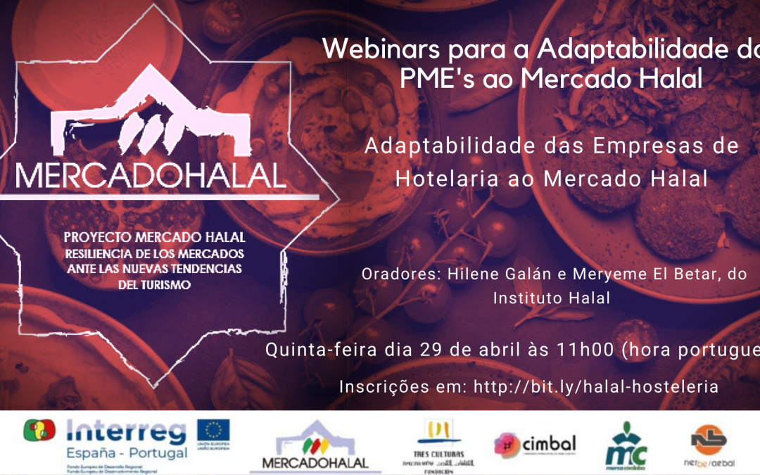 IV Webinar | Adaptabilidade das Empresas de Turismo ao Mercado Halal