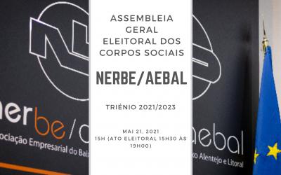 Assembleia Geral Eleitoral NERBE/AEBAL | 21 Maio