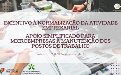 Incentivo à normalização da atividade empresarial | Apoio simplificado para microempresas