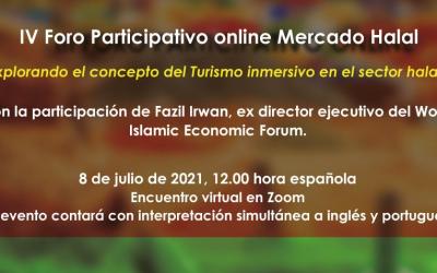 IV FÓRUM PARTICIPATIVO ONLINE | Artesanato e Comércio Halal | 8 Julho